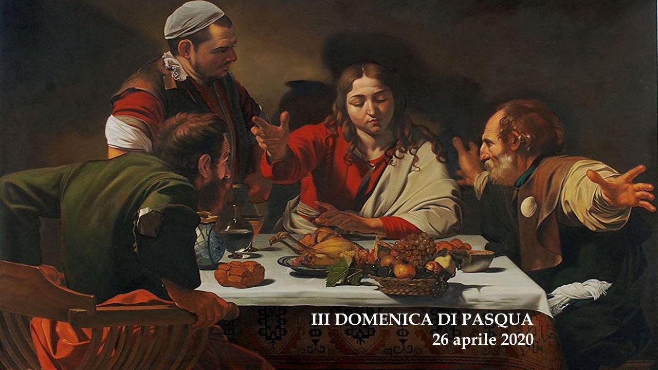 Sussidio per la preghiera personale o familiare nella III domenica di Pasqua