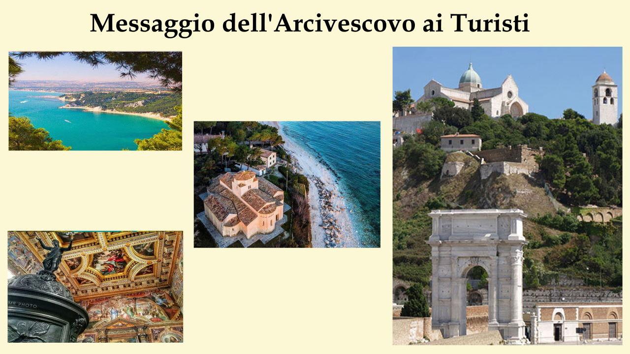 Messaggio dell'Arcivescovo ai Turisti